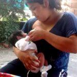 Bebé de Rocío, de 17 años